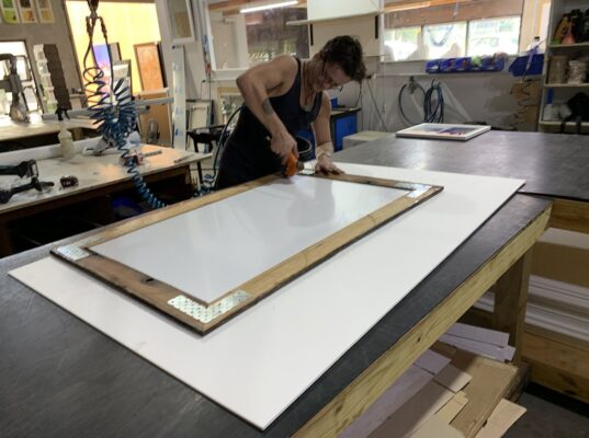 Picture Frame Cleaning PortDouglas